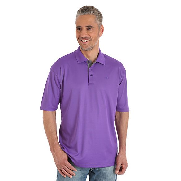 Men's 20X® Advanced Comfort Performance Solid Polos