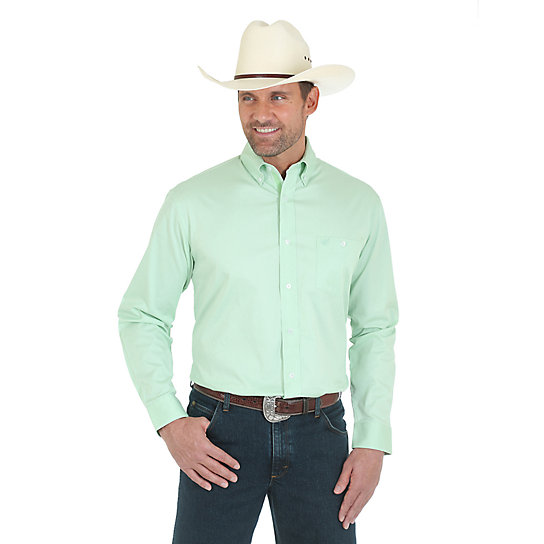 Light Green Button Down Shirt