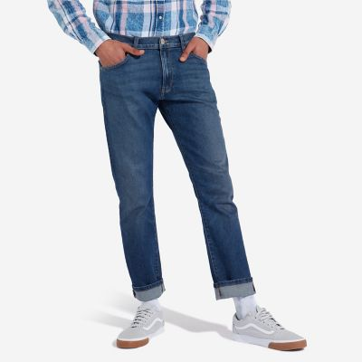Mens Wrangler Larston stretch slim fit jeans /'Stoned up/' FACTORY SECONDS WA8