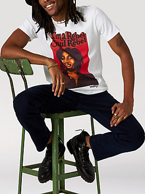 Wrangler® x Bob Marley Men's Soul Rebel T-Shirt