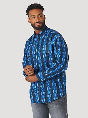 Men's Checotah® Long Sleeve Western Snap Printed Shirt