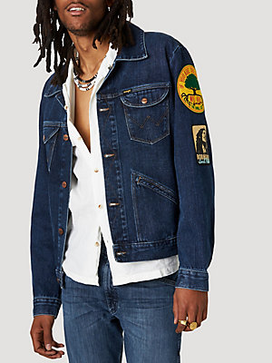 Wrangler® x Bob Marley Men's ICONS™ Denim Jacket
