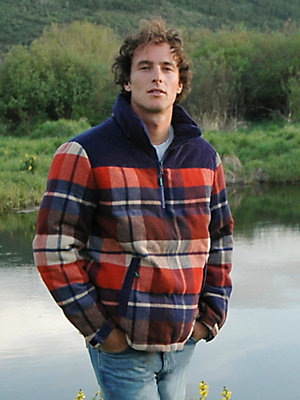 Men's Wrangler® Sherpa Lined Plaid Hooded Jacket
