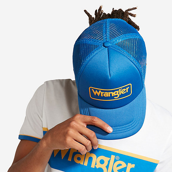 Men's Born Ready Blue and Yellow Kabel Cap