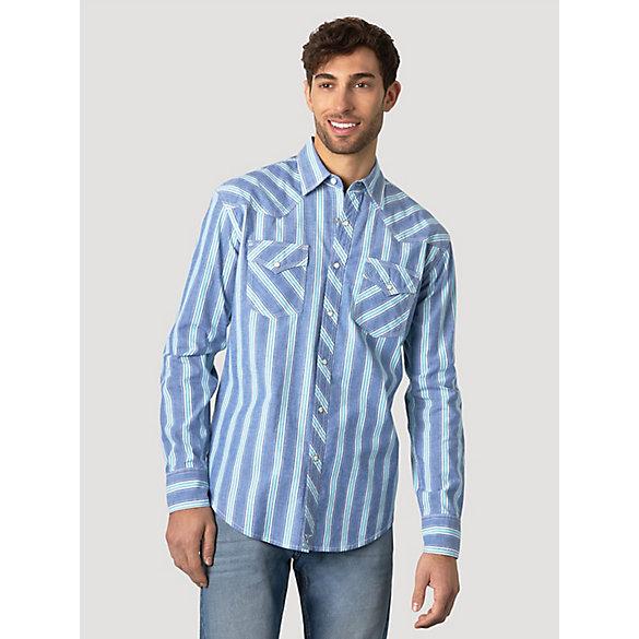 YUNY Men Classic Plaid Summer Button Short Sleeve Western Shirt 4 M