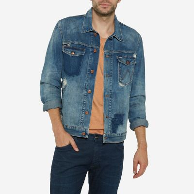 Men's Born Ready Distressed Jacket