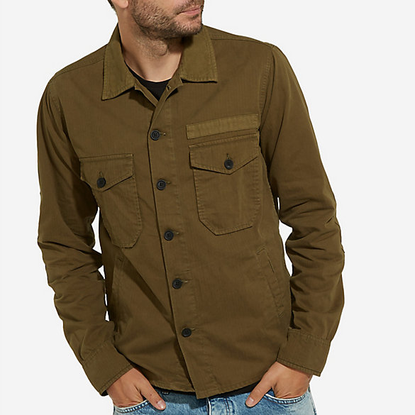 Men's Wrangler® Born Ready Military-Style Jacket