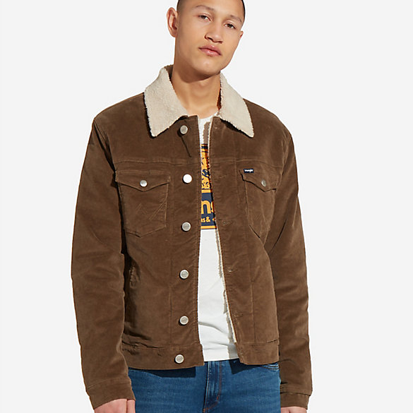 Men's Sherpa Corduroy Jacket