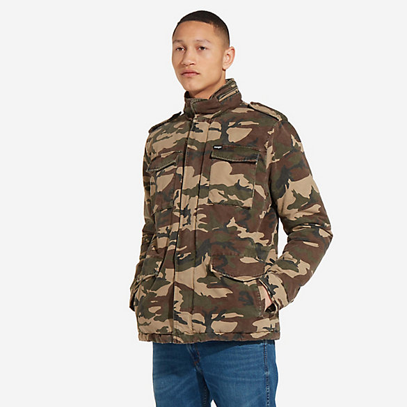 Men's Camo Field Jacket