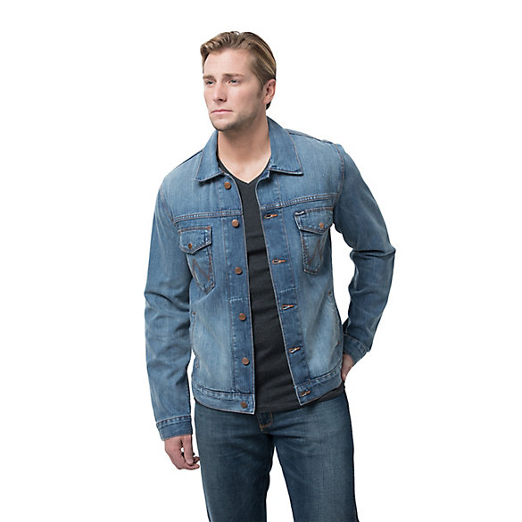 Men's Denim  Medium Blue Trucker Jacket