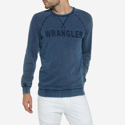 Men's Born Ready Wrangler Print Sweatshirt