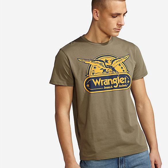 Wrangler Rugged Wear Men S Graphic T