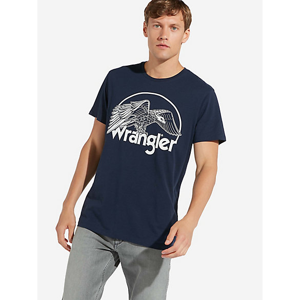 Men's Wrangler® Eagle Graphic T-Shirt