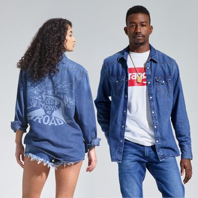Wrangler 174 Lil Nas X Collection Denim Shirt Shirts By