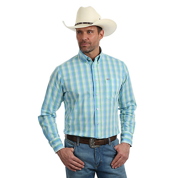 Men's Wrangler® 20X® Performance Long Sleeve Shirt