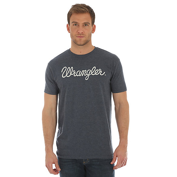 Men's Wrangler® Script Screenprint Short Sleeve T-Shirt