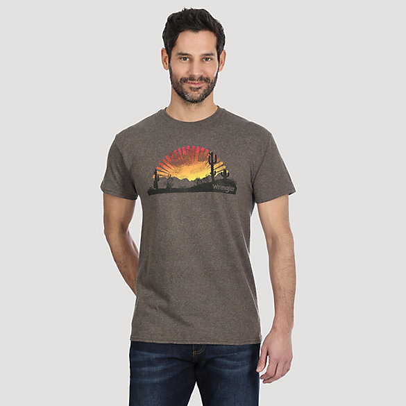 Men's Western Desert Graphic Tee