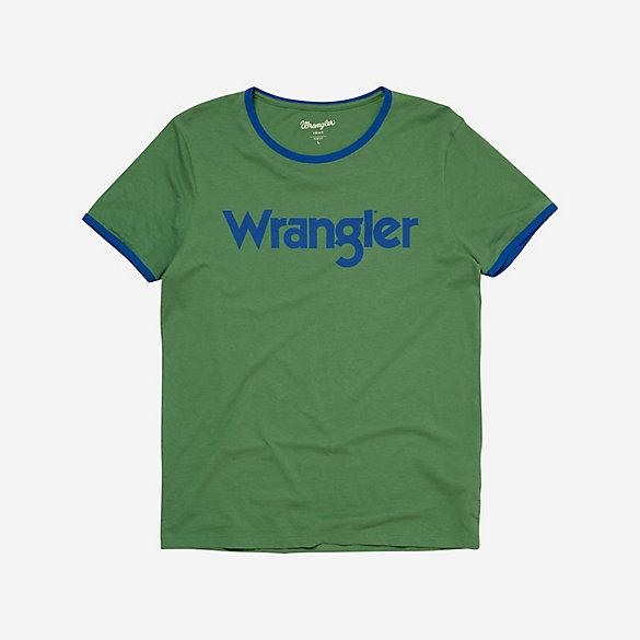 Men\'s 70th Anniversary Wrangler® Kabel Logo Ringer Tee   Mens Shirts ...