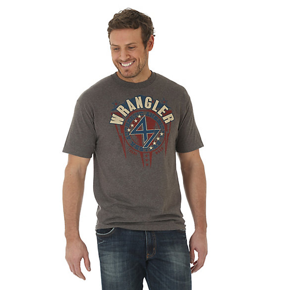 Men's Wrangler® Lightning Screenprint Short Sleeve T-Shirt