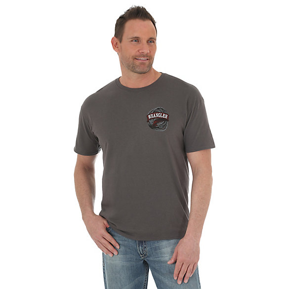 Men's Wrangler®  American Western Screenprint Short Sleeve T-Shirt