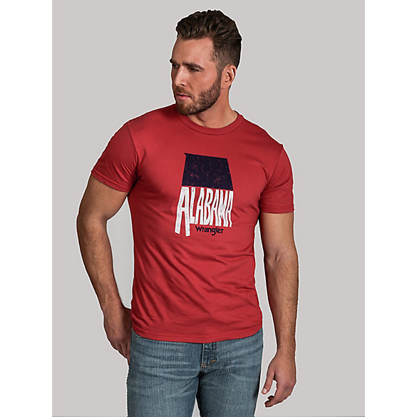 Men's Wrangler Rooted Collection™ Alabama T-Shirt