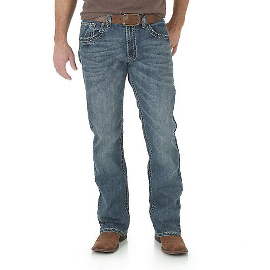 Wrangler Rock 47 >> Men's Rock 47® by Wrangler® Slim Fit Boot Cut Jean | Mens ...