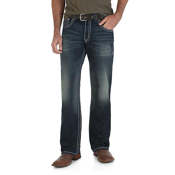 Men's Rock 47® by Wrangler® Slim Fit Bootcut Jean | Mens Jeans by ...