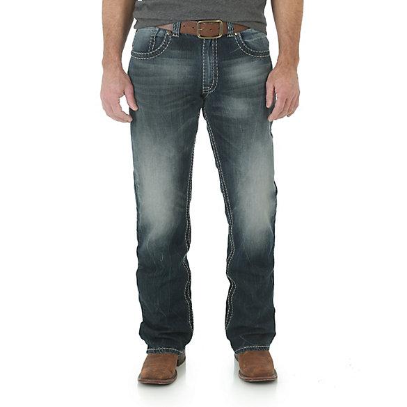 men 39 s rock 47 by wrangler slim fit bootcut jean mens jeans by. Black Bedroom Furniture Sets. Home Design Ideas