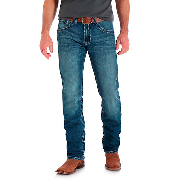 Men's Rock 47® by Wrangler® Slim Fit Straight Leg Jean