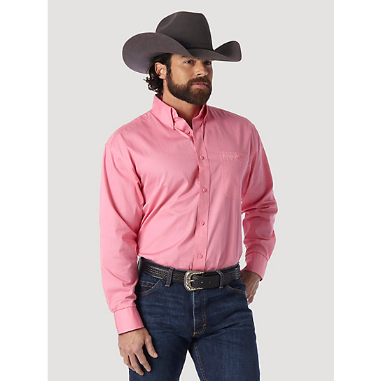 Tough Enough to Wear Pink™ Long Sleeve Solid Shirt - Pink