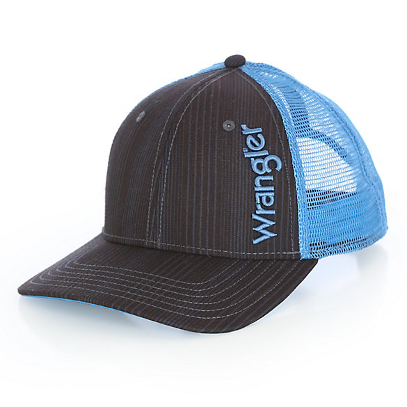 Men's Allover Pinstripe Cap with Vertical Kabel Logo
