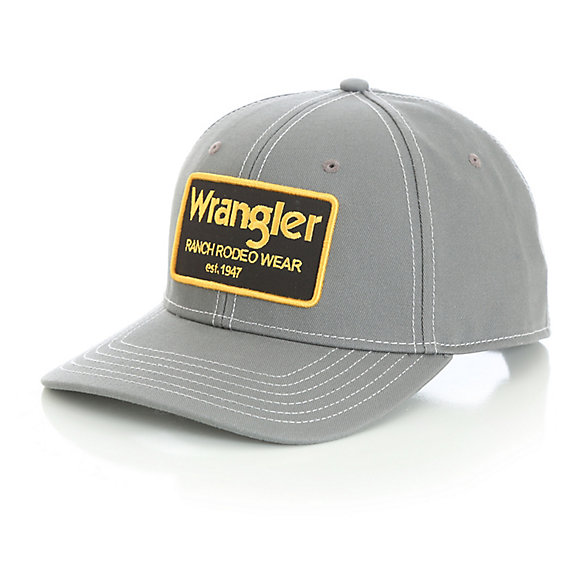 "Men's ""Wrangler® Ranch Rodeo Wear"" Patch Baseball Cap"