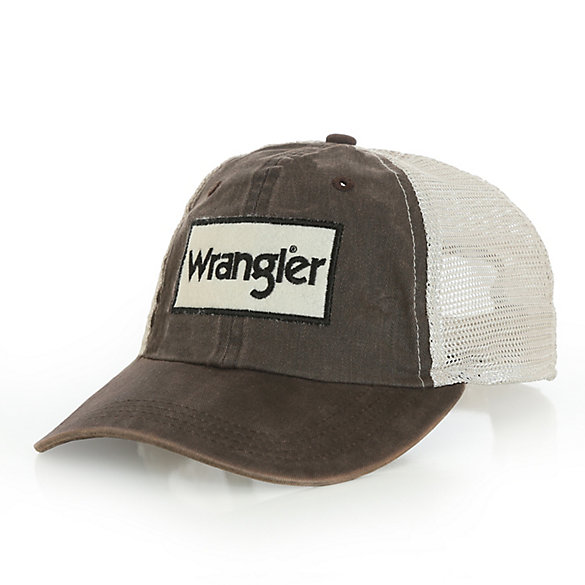 Men's Washed Olive Kabel Trucker Cap