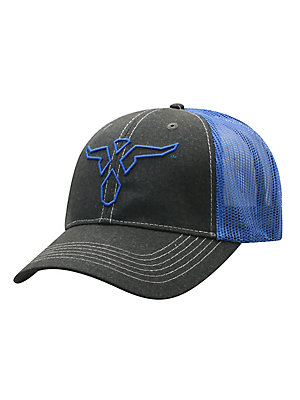 Men's Wrangler 20X® Center Logo Trucker Hat
