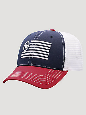 Men's Wrangler Flag Trucker Hat