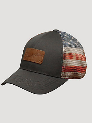Wrangler® Men's Americana Trucker Hat