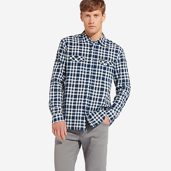 Men's Wrangler® Checkered Button Up Shirt