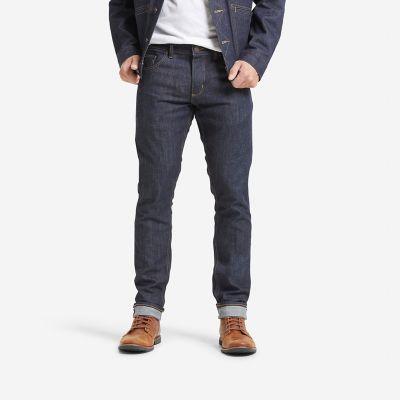 41075d2f Wrangler 27406 Men's Raw Button-Fly Skinny Fit Selvedge Jean