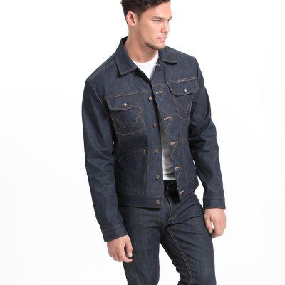 Wrangler 174 27406 Men S Selvedge Denim Jacket Mens Jackets