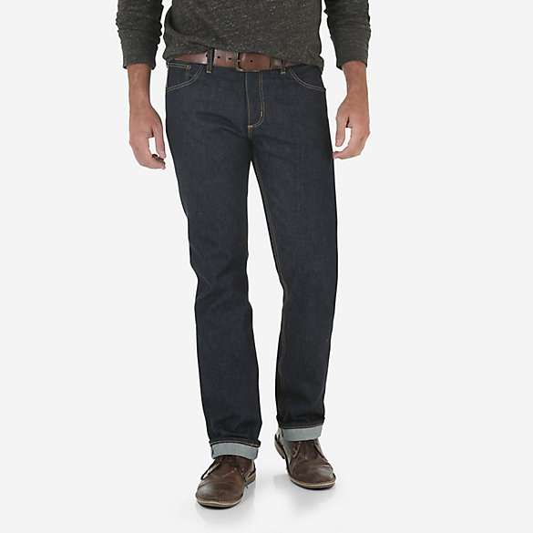 Wrangler® 1947 Made in USA Selvedge Slim Straight Jean