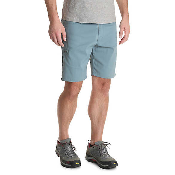 Men's Outdoor Flex Waist Flap Pocket Performance Utility Short