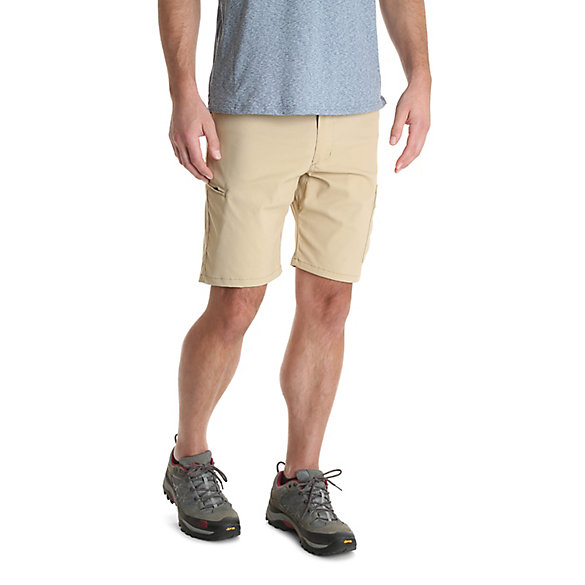Men's Outdoor Flex Waist Asymmetric Performance Cargo Short
