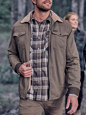 ATG™ By Wrangler® Men's Sherpa Lined Canvas Jacket