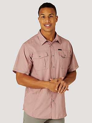 ATG™ by Wrangler® Men's Short Sleeve Utility Shirt