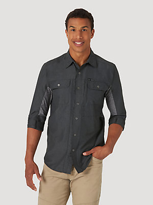 ATG™ by Wrangler® Men's Mix Material Shirt