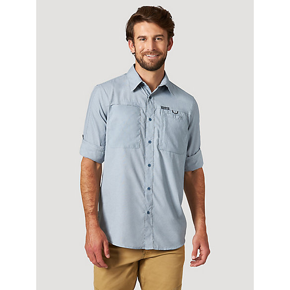 All Terrain Gear™ By Wrangler® Men's Hike To Fish Utility Shirt