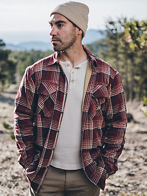 ATG by Wrangler™ Men's Thermal Lined Flannel Shirt