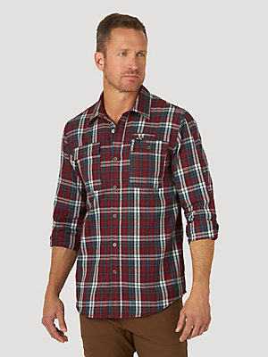 ATG by Wrangler™ Men's Utility Canyon Flannel Shirt