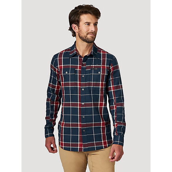 All Terrain Gear™ By Wrangler® Men's Eco Utility Flannel Shirt