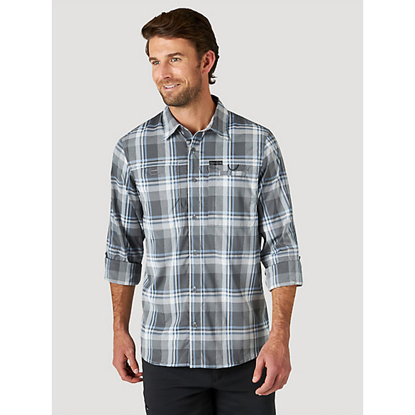 ATG™ by Wrangler® Men's Long Sleeve Hike to Fish Shirt